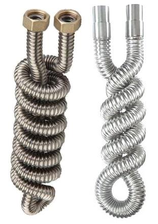 спиралевидная сильфонная труба для змеевиков димрот